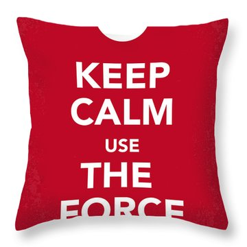 My Keep Calm Star Wars - Rebel Alliance-poster Throw Pillow