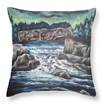 My Land My Imagination 2 Throw Pillow