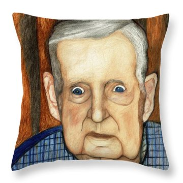 My Late Grandfather Throw Pillow