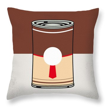 My Mario Warhols Minimal Can Poster-donkey Kong Throw Pillow