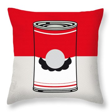 My Mario Warhols Minimal Can Poster-mario Throw Pillow