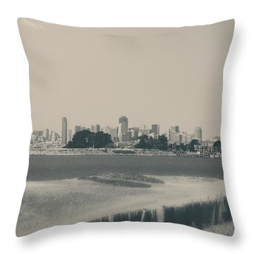 My Mind Knows No Quiet Throw Pillow by Laurie Search