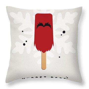My Muppet Ice Pop - Animal Throw Pillow by Chungkong Art