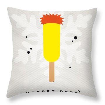 My Muppet Ice Pop - Beaker Throw Pillow by Chungkong Art