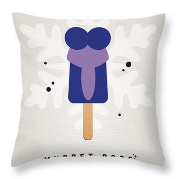 My Muppet Ice Pop - Gonzo Throw Pillow by Chungkong Art