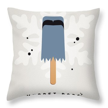 My Muppet Ice Pop - Sam The Eagle Throw Pillow by Chungkong Art