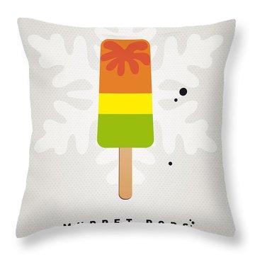 My Muppet Ice Pop - Scooter Throw Pillow by Chungkong Art