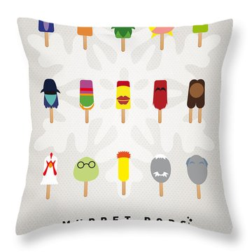 My Muppet Ice Pop - Univers Throw Pillow