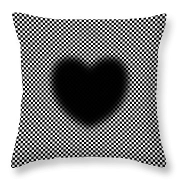My Mystic Pulsating Heart Throw Pillow