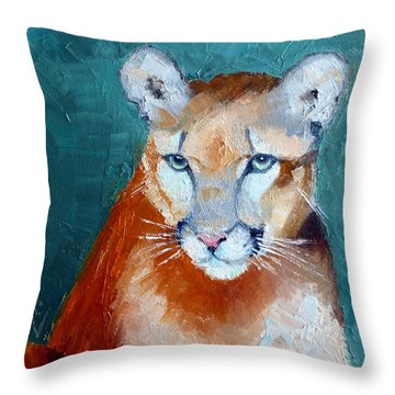 My Name Is Cruz Throw Pillow by Susan Woodward