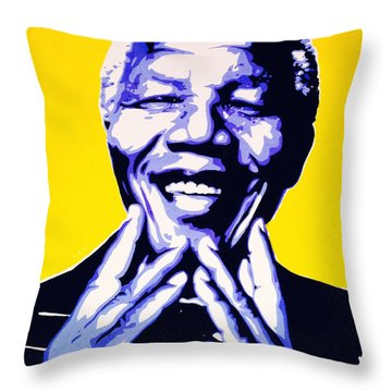 My Nelson Throw Pillow