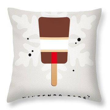 My Nintendo Ice Pop - Donkey Kong Throw Pillow by Chungkong Art