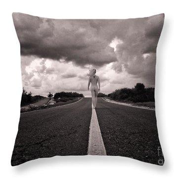 My Own Destiny Throw Pillow by Stelios Kleanthous