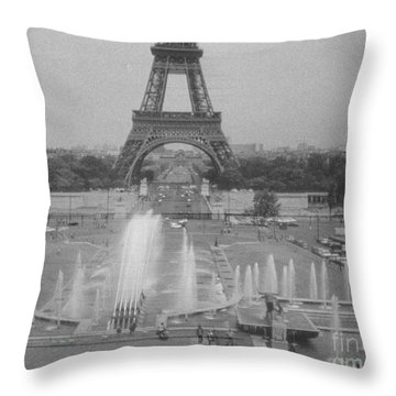 Throw Pillow featuring the photograph my Paris by Steven Macanka