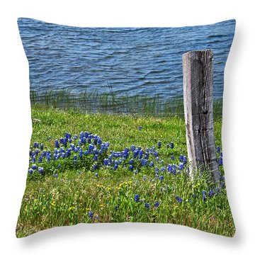My Peace Throw Pillow by Lisa Holmgreen