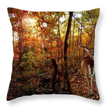 My Place Throw Pillow