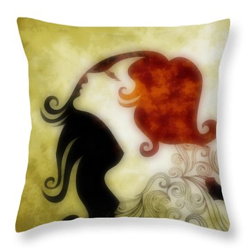 My Prince Will Come For Me 1 Throw Pillow by Angelina Vick