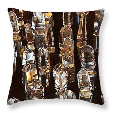 My Quartz Crystal Collection Throw Pillow
