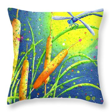 My Sanctuary Throw Pillow by Oiyee At Oystudio