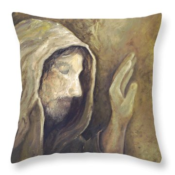 My Savior - My God Throw Pillow