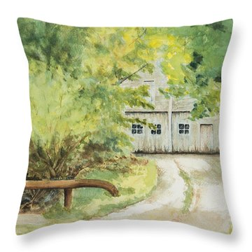 My Secret Hiding Place Throw Pillow