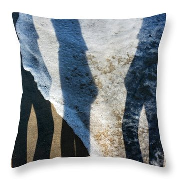 My Shadow Follows Me Throw Pillow by Betsy Knapp
