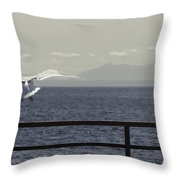 My Soul Is Full Of Longing Throw Pillow by Lisa Knechtel