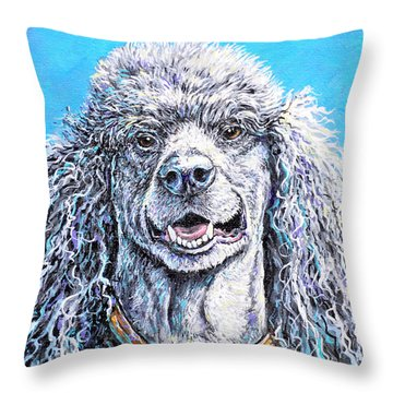 My Standard Of Excellence Throw Pillow by Gail Butler