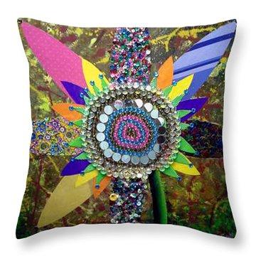 My Sunflower Throw Pillow