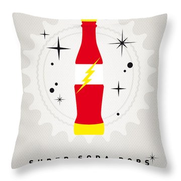 My Super Soda Pops No-18 Throw Pillow