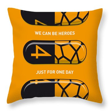 My Superhero Pills - The Thing Throw Pillow