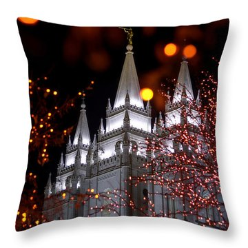 My Take Throw Pillow by Chad Dutson