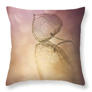 My Turn In The Spotlight Throw Pillow by Jan Bickerton