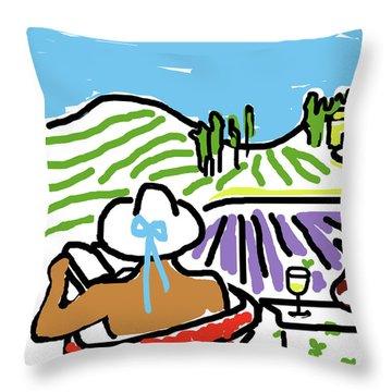 My Tuscany Dream 2 Throw Pillow