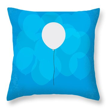 My Up Minimal Movie Poster Throw Pillow by Chungkong Art