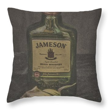 Throw Pillow featuring the photograph My Wild Irish Rose by Mitch Shindelbower