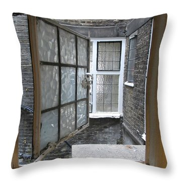 My Window View Throw Pillow