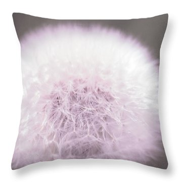Throw Pillow featuring the photograph My Wish  by The Art Of Marilyn Ridoutt-Greene