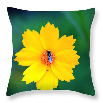 My Yellow World Throw Pillow
