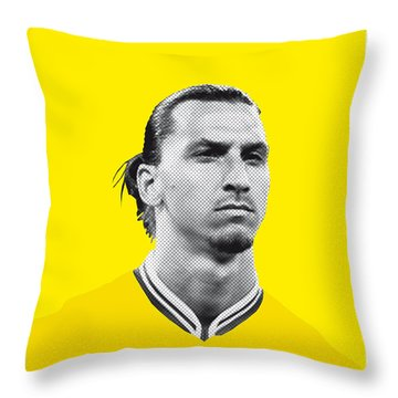 My Zlatan Soccer Legend Poster Throw Pillow by Chungkong Art
