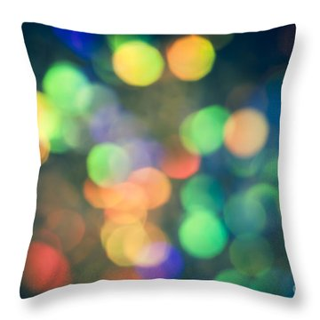 Myriad Throw Pillow by Jan Bickerton