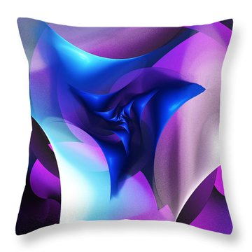 Throw Pillow featuring the digital art Mysterious  by David Lane