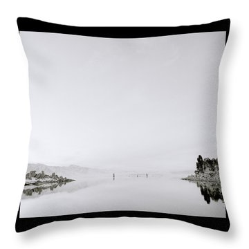 Still Waters Throw Pillow by Shaun Higson