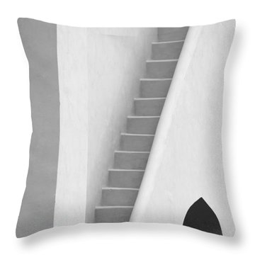 Mysterious Staircase Throw Pillow