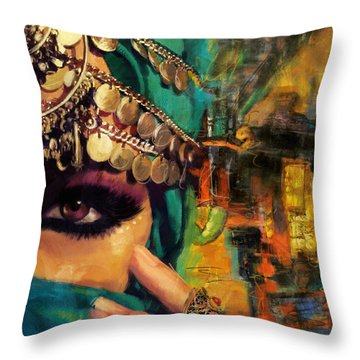 Mystery Throw Pillow