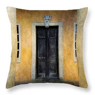 Mystery Entrance  Throw Pillow by Svetlana Sewell