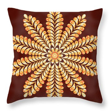 Mystery Jewel Of Kedah Throw Pillow by Derek Gedney