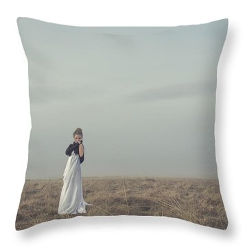 Mystic And Divine Throw Pillow