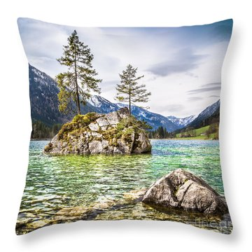 Mystic Bavaria Throw Pillow by JR Photography