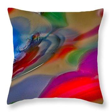 Mystic Dragon Throw Pillow by Omaste Witkowski
